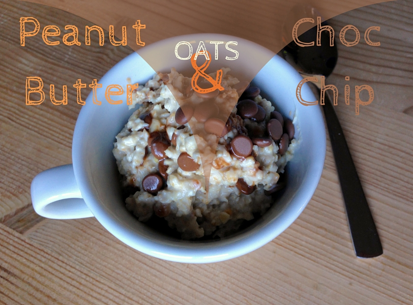 Peanut Butter Chocolate Chip Oats