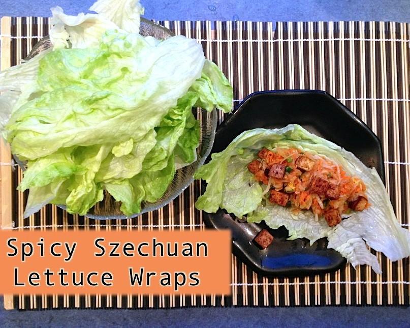 Spicy Szechuan Lettuce Wraps
