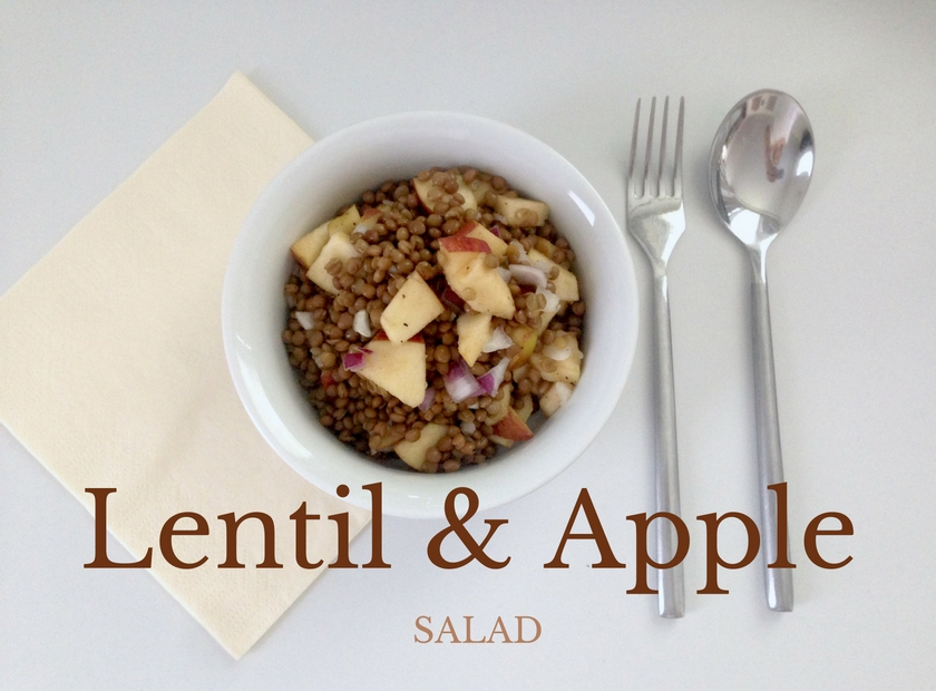 Lentil Apple Salad