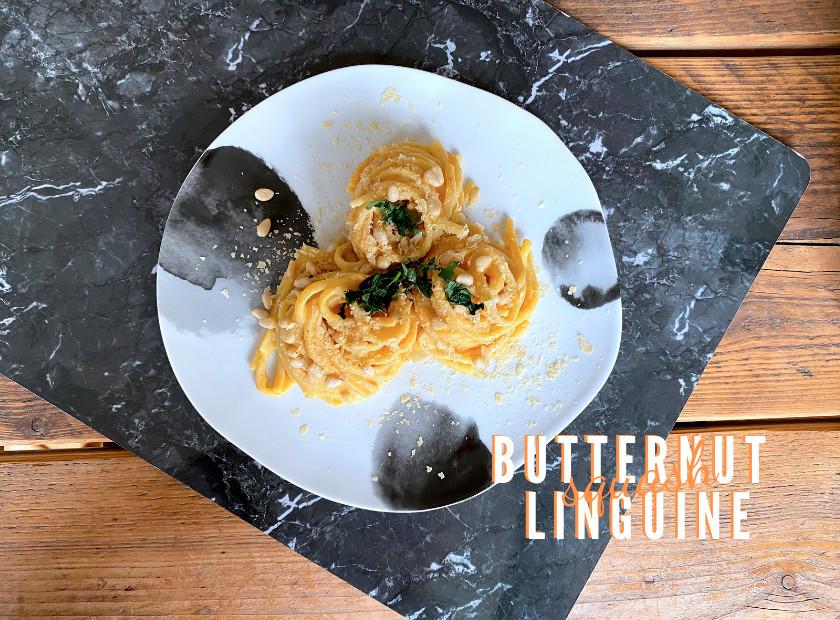 Vegan Butternut Squash Linguine